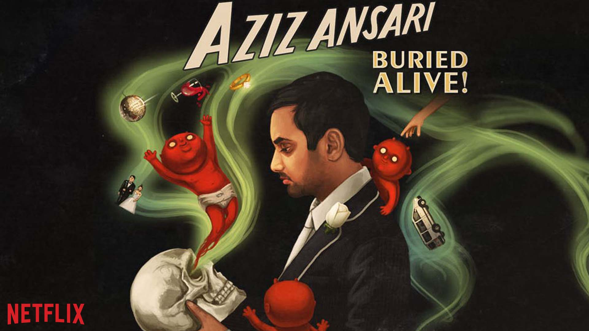 Aziz Ansari Buried H