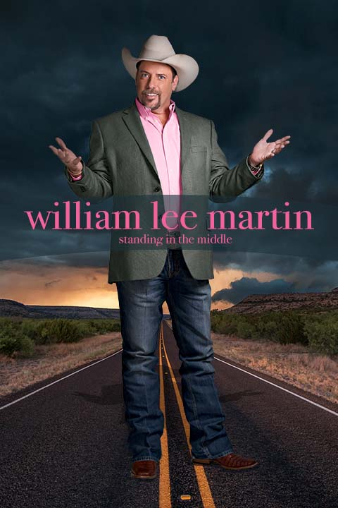 William Lee Matrin Standing In The Middle comedy album