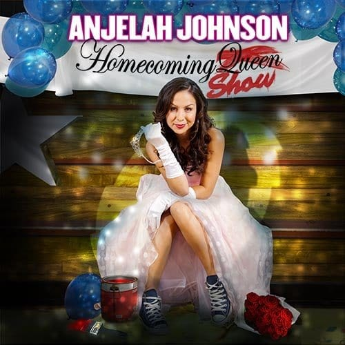 Comedian Anjelah johnson Homecoming Queen Show