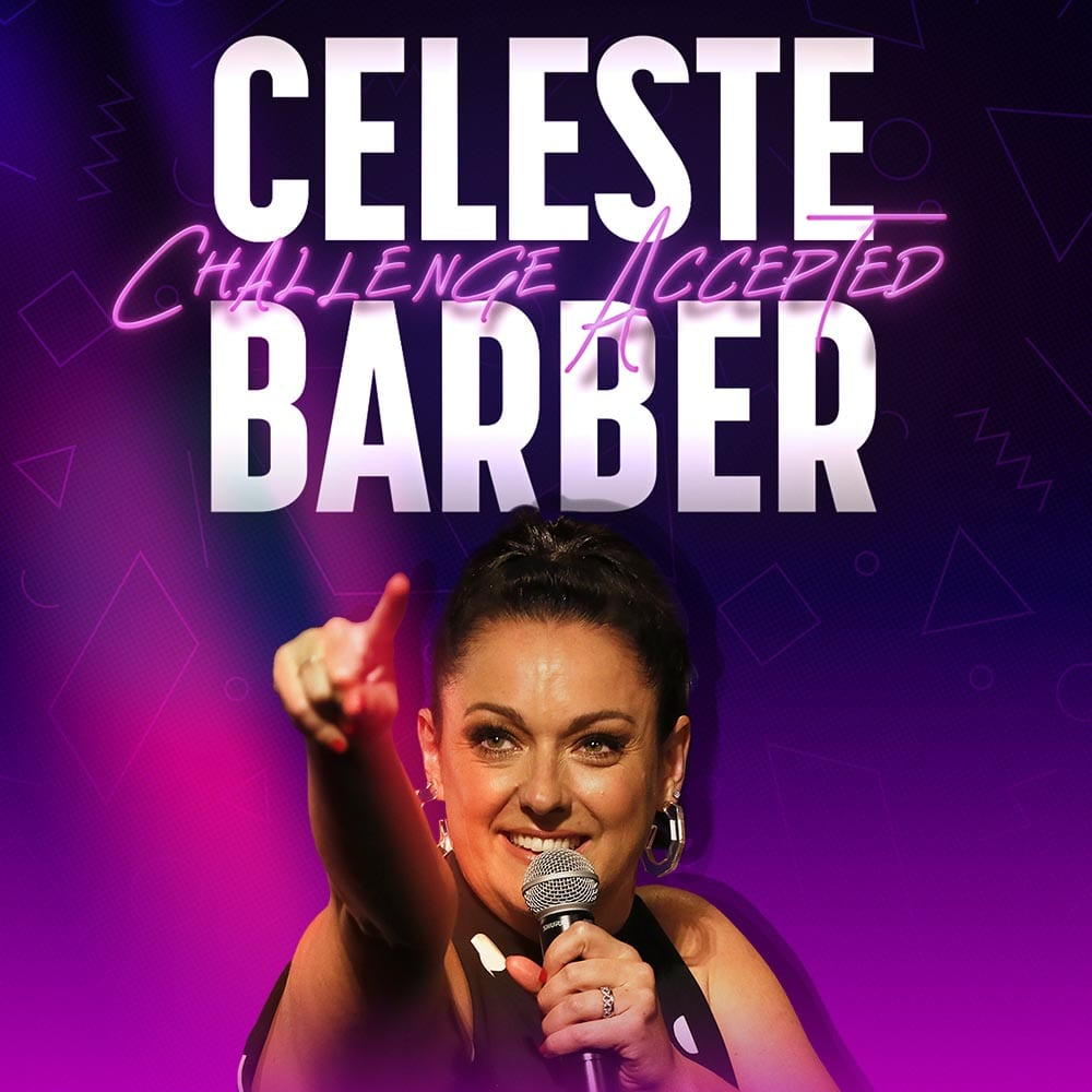 Celeste Barber Challenge Accepted Showtime Comedy Dynamics Square