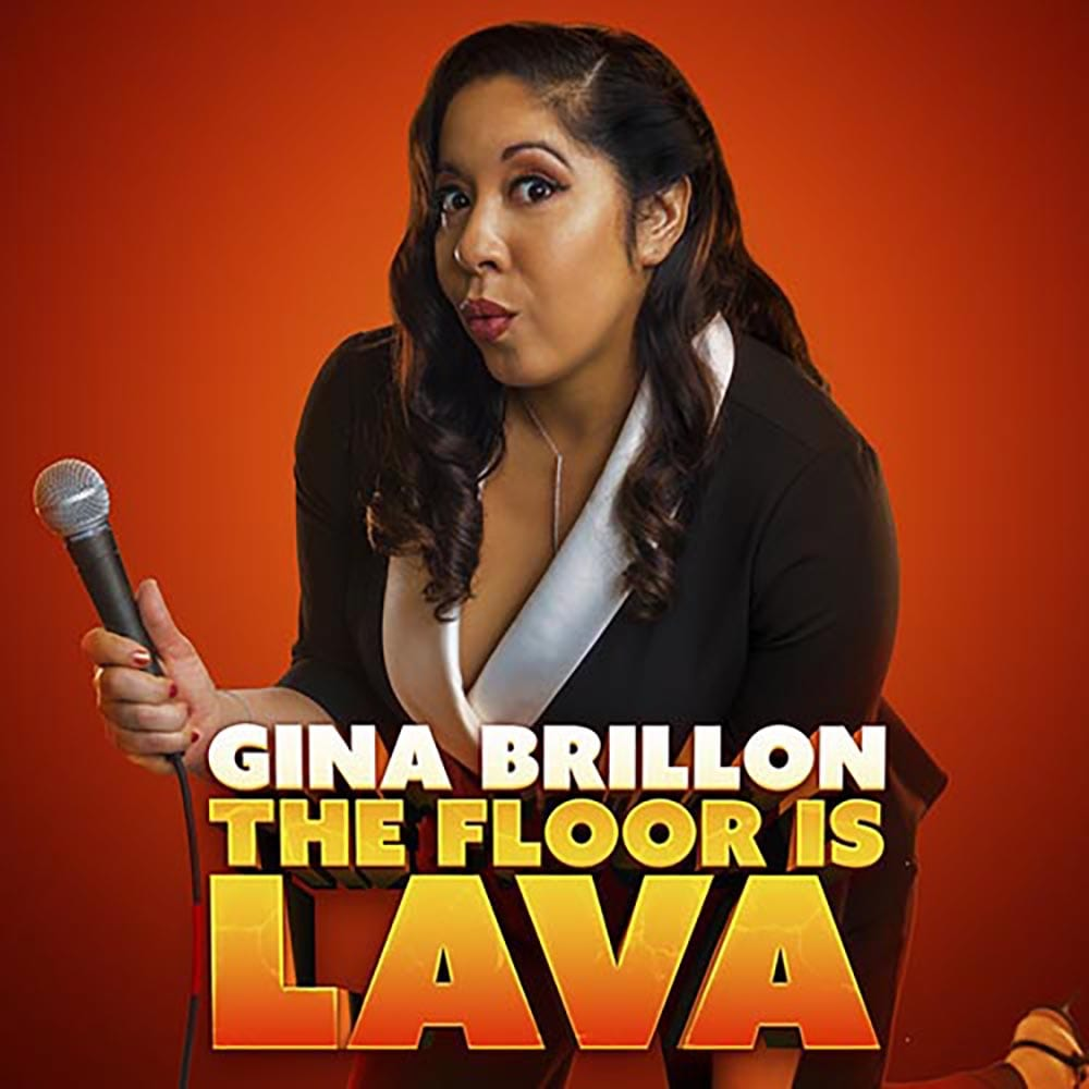 Gina Brillon The Floor Is Lava Amazon Comedy Dynamics Square