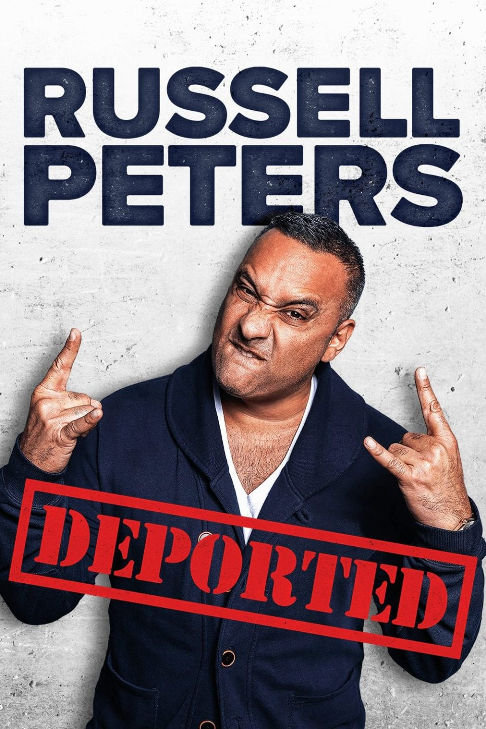 Russell Peters Deported cover
