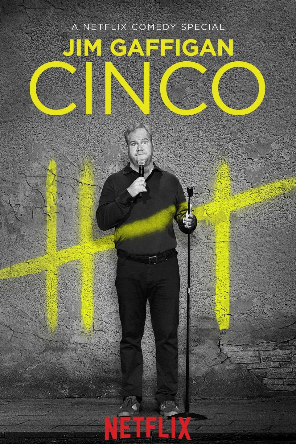 Jim Gaffigan Cinco Vertical