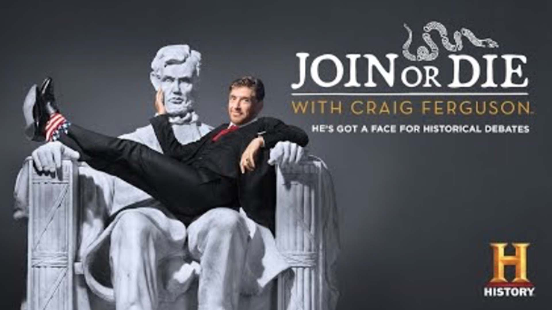 Join or Die with Craig Ferguson Horizontal